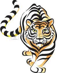 Resultado de imagem para tigre vetor