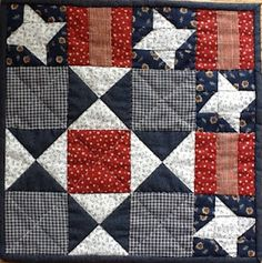 The Cuddle Quilter: Celebrate Red, White, and Blue Blog Hop Starts Today!