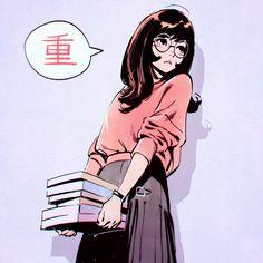 kuvshinov-ilya: 'More Studies' painting process steps! Aesthetic Art, Aesthetic Anime, Chihiro Cosplay, Character Inspiration, Character Art, Manga Anime, Anime Art, Kuvshinov Ilya, Super Heroine