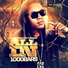 "1000BARS ""ALL IN"" street album available on datpiff.com submitpressrelease123.com press release #rapper #1000bars"