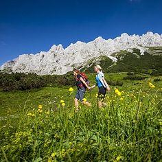 Hiking in Hochschwab, Styria © Österreich Werbung / Tom Lamm