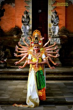 Saraswati Dance . Bali Indonesia