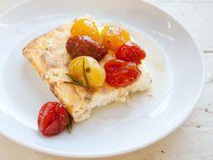 Baked Ricotta with Maple-Roasted Tomatoes @Kari Swanson