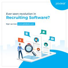 Ever seen revolution in Recruiting Software? 🙋♂️ We are offering so many features for Free for which you're paying to others. Check this by yourself: www.jobdesk.com (FREE) #jobdeskcom #jobdesk #recruitersplatform #chakri #jobs #circular #globalrecruitment #gobalrecruitingplatform
