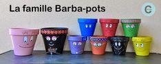 : Tuto kids : des pots customisés en personnages