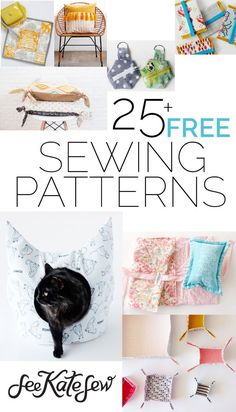 Here's an updated roundup of more than 25 FREE sewing patterns from the archives! Make something fun for your home, a friend, a new baby, or even your fur baby! There's something here for everyone. :) Take Flight Kids Knapsack – This kids backpack is cute and easy to sew! DIY Bow Shirt – BOWS! So cute …