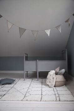 Mommo design: beni ourain in kid's room. Casa Kids, Creative Kids Rooms, Modern Kids Bedroom, Baby Boy Rooms, Baby Room Decor, Kids Furniture, Room Interior, Girl Room, Room Inspiration