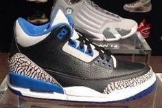 air jordan 3 retro sport blue rd thumb Air Jordan Release Dates