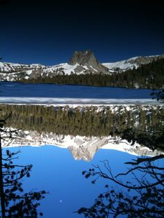Lake Mary Winter Reflection