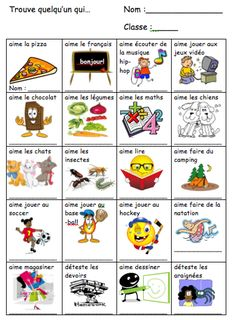 eTools for Language Teachers: La rentrée First Week Of School Ideas, First Day Of School Activities, French Flashcards, French Worksheets, French Teaching Resources, Teaching French, Classroom Resources, French Education, Core French