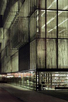 Wiel Arets Architects: University Library UBU, Utrecht, Netherlands, 2004