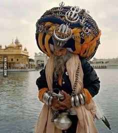 Nihang Sikh (monk warrior)
