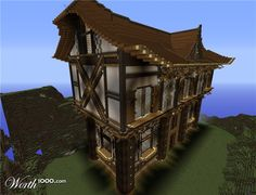 Houses - 18 top houses made in Minecraft!