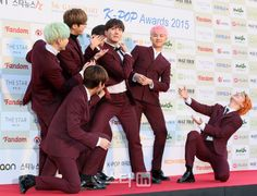 [Picture/Media] BTS at The 5th Gaon Chart K-POP Awards Red Carpet [160217]