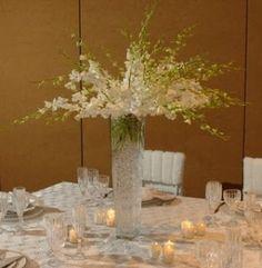 Centro de mesa para boda invernal - Bodas de Denver