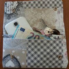 Pochette portafoglio due in uno, by francycreations non solo idee regalo, 8,00 € su misshobby.com