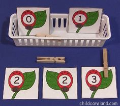 Ladybug Number Match and Clip ... this week's free printable is a great activity for number recognition and review. Available until Sunday May 26th ... after that they will be available in the member's section of the site.