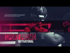 Sport Promo Motivational — After Effects project | Videohive template