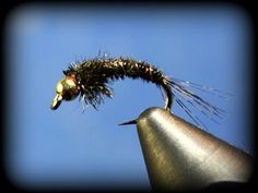 """Improved"" Pheasant Tail: TWO MINUTE fly tying! - YouTube"