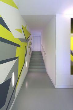 Treppenhaus renovieren und mal anders gestalten