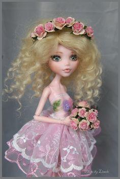 cute custom doll made from Monster High Draculaura