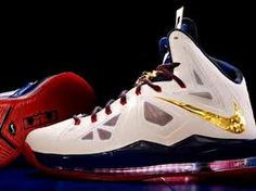 "Check out LeBron James' new hot kicks at D Brown's Hoop Soup at www.dbrownshoopsoup.com.  You ""hoop soupin""?"
