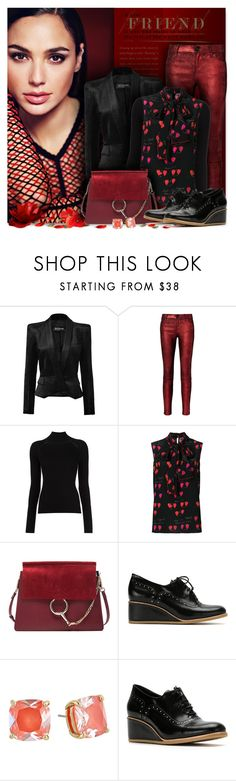 """Passion for Fashion"" by petri5 ❤ liked on Polyvore featuring Balmain, RtA, Alexander McQueen, Chloé, Sarah Chofakian and Kate Spade"