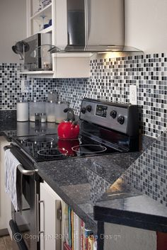 The color black never goes out of style & white signifies style & class in any home. See the many possibilities for your next black & white kitchen design.