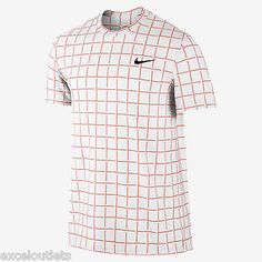 Shirts and Tops 70900: Nwt! Nike Sphere Stripe Crew Men'S Tennis Shirt Sz M 644782 812 (#3203) -> BUY IT NOW ONLY: $49.95 on eBay!