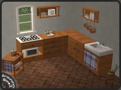 Around the Sims 2 | Objects | Kitchen | Authentic