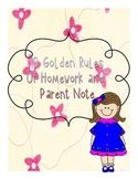 Classroom Poster: Golden Rules of Homework and Parental Note Notes To Parents, Golden Rules, Wimpy, Classroom Posters, Homework, Teaching Resources, Lesson Plans, Parenting, Teacher