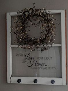 Repurposed wood Projects Craft Ideas Old Windows is part of Old window decor - Welcome to Office Furniture, in this moment I'm going to teach you about Repurposed wood Projects Craft Ideas Old Windows Old Window Crafts, Old Window Decor, Old Window Projects, Old Window Ideas, Old Window Art, Old Window Panes, Windows Decor, Wood Projects, Antique Windows