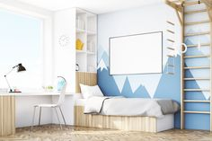 7 Ways to Design a Calming Kid's Bedroom - Want your child to sleep well? Make her bedroom a soothing space. #homedecor #homedecorating #decoratingideas #renovations #decorinspo #homeinspiration