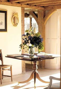 Love the tall, curved unit tucked behind the oak upright here House, Interior Decorating, Border Oak, Cottage Decor, Oak Framed Buildings, Cottage Interiors, Sweet Home, English Decor, Cottage Living