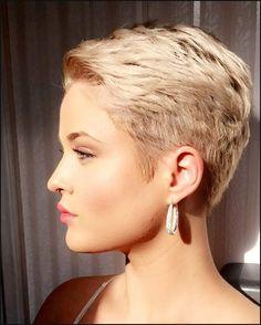 Die 10 hübschesten Pixie-Frisuren, die wir heute trafen! - Neue ... | Einfache Frisuren