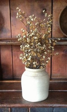 Florals and Greenery - Fine Country Living Primitives - Primitive Colonial Country Home Decor