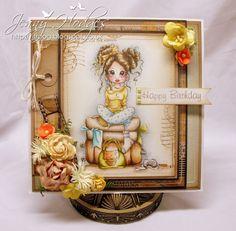 .Jenny's craft corner: Saturated Canary