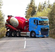 Semi Trucks, Big Trucks, Mixer Truck, Concrete Mixers, Road Train, Volvo Trucks, Concept Cars, Cars And Motorcycles, Techno