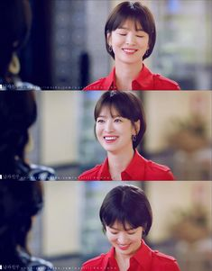 Girl Short Hair, Short Girls, Short Hair Cuts, Short Hair Styles, Korean Actresses, Asian Actors, Actors & Actresses, Song Hye Kyo Hair, Korean Drama Romance