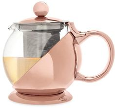 This Rose Gold Shelby Wrapped Teapot & Infuser by True Brands is perfect! Rose Gold Shelby Wrapped Teapot & Infuser by True Brands is perfect! Kitchen Decor Themes, Home Decor, Glass Teapot, Copper Rose, Loose Leaf Tea, Home And Deco, Ceramic Teapots, Home Accessories, Copper Kitchen Accessories