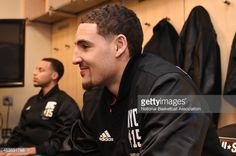 Klay Thompson All Star | News Photo : Klay Thompson of the Western Conference prior to...