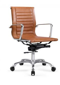 Desk Chair Tessel - Brown - Low back - Real cow leather - Rob & Ruby kaufen?