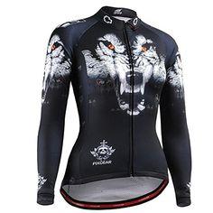 FIXGEAR Women Cycling Jersey Long Sleeve 07e4aff73