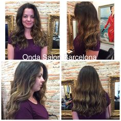 Mechs californianas delicada naturales + corte y peinado - Ombre highlights - balayage natural soft + cut and blow dry by Onda Hair Team. #Ondasalon #mechas #mechascalifornianas #corteypeinado #ombrehighlights #balayage #balayagehaircolor #balayagenaturalsoft #cutandblowdry #peluqueriabarcelona #peluqueriabarceloneta #Barcelona #Barceloneta #ondasalonBarcelona