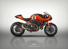 Ducati Monster Cafe Racer by Jakusa Design #motorcycles #caferacer #motos | caferacerpasion.com