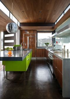 article about cabinet color palettes   contemporary kitchen by Livingston Interiors