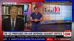 "Dr. Bob Arnot nails it on CNN: Attack on Doctor Oz was astroturfed by sleazy ""industry henchmen"" with ties to biotech"