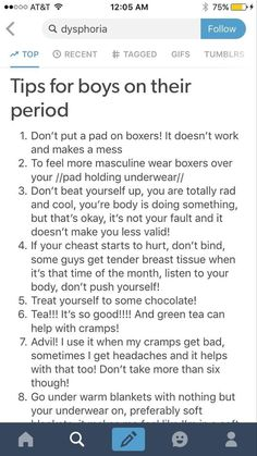 For my trans dudes on their period Trans Boys, Trans Man, Ftm Haircuts, Transgender Tips, Period Hacks, Lgbt Memes, Just In Case, Positivity, Feelings