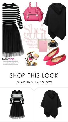"""""""Newchic/Lovenewchic"""" by helenevlacho ❤ liked on Polyvore featuring women's clothing, women, female, woman, misses, juniors and newchic"""