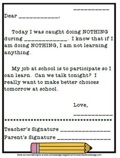 For students who do NOTHING